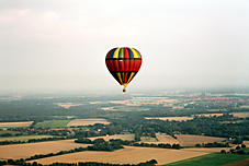ODYL Ballon in der Luft
